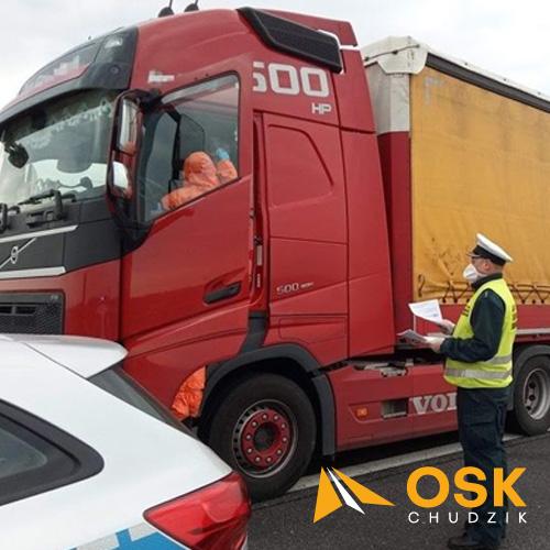Informacja Ministra Infrastruktury dotycząca zawodowych kierowców